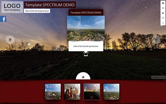 Spectrum template